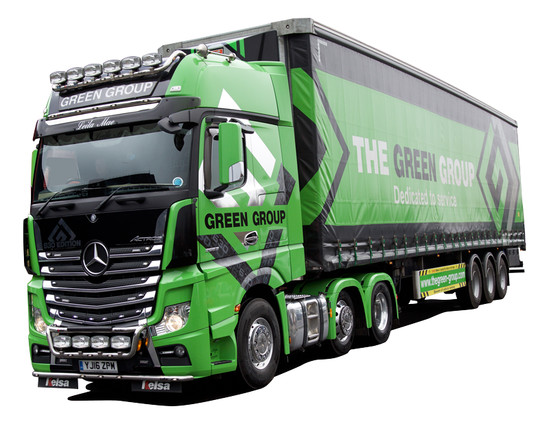 Green Group Lorry