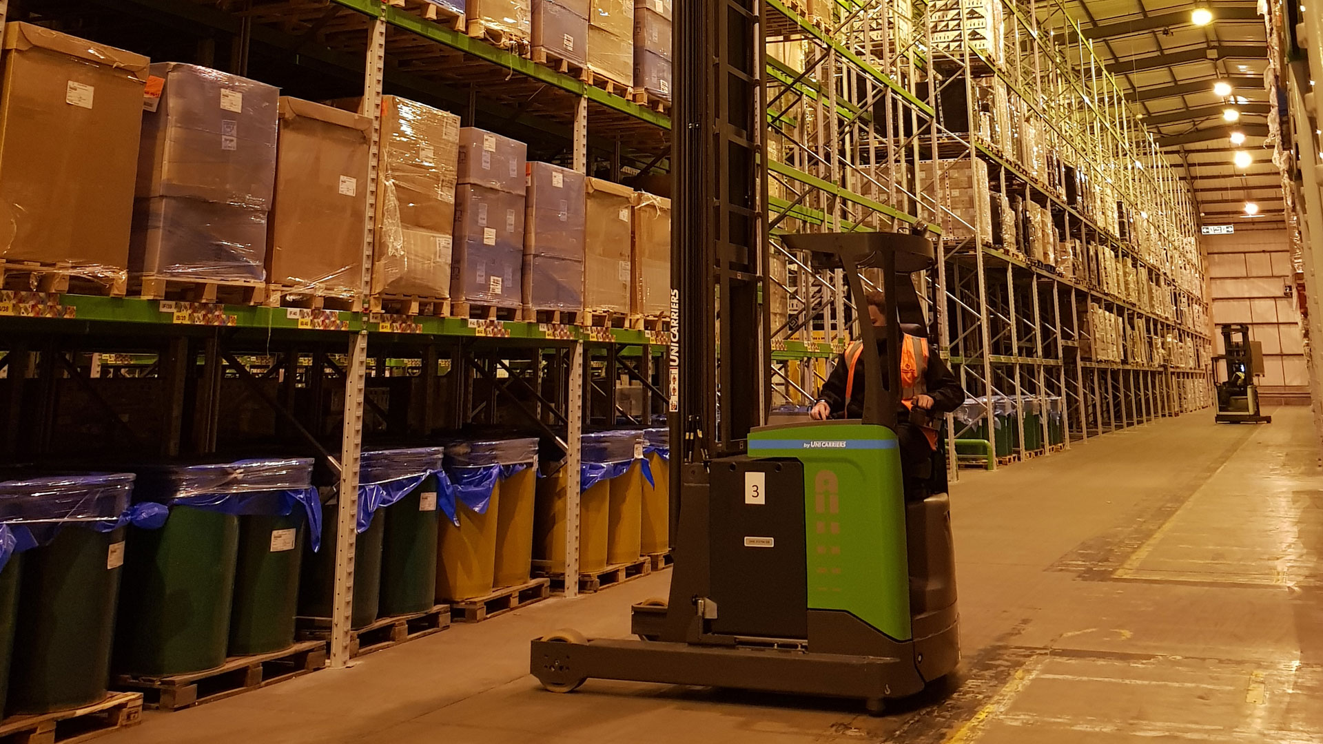 Warehousing and Pallet Network